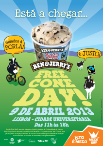 MEGA HITS B&J Free_cone_day