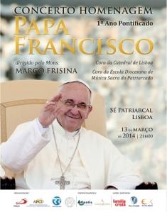 concerto homenagem Papa Francisco