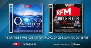 RFM_CD Oceano Pacifico e DVD Dancefloor