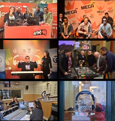 Momentos Dia Mundial da Rádio