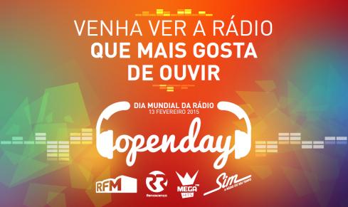 Open Day 2015 Venha ver a Rádio que mais gosta de ouvir