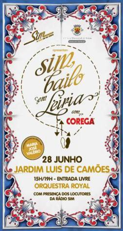 SIM, BAILO cartaz Leiria
