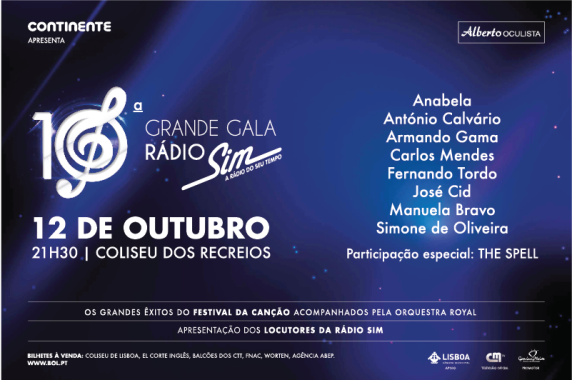 Gala Rádio SIM 2018
