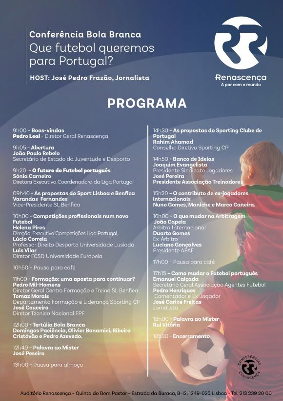 Programa Conferência Bola Branca
